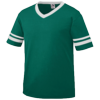 Youth-Sleeve-Stripe-Jersey-361-Dark-Green-White