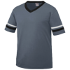 Youth-Sleeve-Stripe-Jersey-361-Graphite-Black-White
