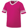 Youth-Sleeve-Stripe-Jersey-361-Power-Pink-White