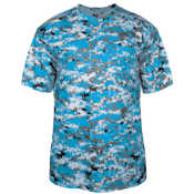 Adult Camouflage Jersey Badger - 4180 4180