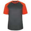 Adult-Sport-Heather-Tee-434100-Carbon-Heather-Burnt-Orange