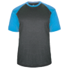 Adult-Sport-Heather-Tee-434100-Carbon-Heather-Columbia-Blue