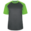 Adult-Sport-Heather-Tee-434100-Carbon-Heather-Lime