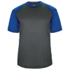 Adult-Sport-Heather-Tee-434100-Carbon-Heather-Royal