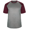 Adult-Sport-Heather-Tee-434100-Steel-Heather-Maroon