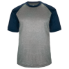 Adult-Sport-Heather-Tee-434100-Steel-Heather-Navy