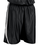 4409-Black-White-Downtown-Youth-Basketball-Shorts