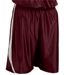 4409-Maroon-White-Downtown-Youth-Basketball-Shorts