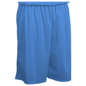 "Teamwork Athletic Youth Fadeaway Tricot Basketball Short - 7 "" inseam - 4414 4414"