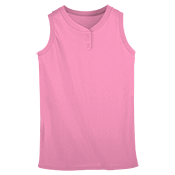 Adult Sleeveless Two Button Softball Jersey  - 550 550
