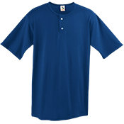 Adult Two-Button Baseball Jersey - 580 580