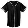 WICKING-MESH-BUTTON-JERSEY-BRAID-TRIM-593-Black-White