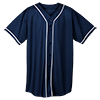 WICKING-MESH-BUTTON-JERSEY-BRAID-TRIM-593-Navy-White