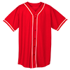 WICKING-MESH-BUTTON-JERSEY-BRAID-TRIM-593-Red-White