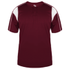 Pro-Adult-Placket-793700-Maroon-White
