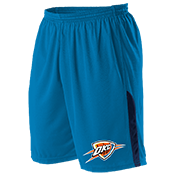 Oklahoma City Thunder Youth Basketball Shorts - A205LY-THUNDER A205LY-THUNDER