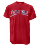 Angels MLB 2 Button Jersey  - MA0180 Angels-MA0180