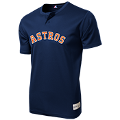 Astros Youth 2-Button MLB Jersey - MLB181 Astros-181