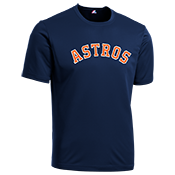 Astros Youth Wicking MLB Replica Jersey - M1261 Astros-M1261