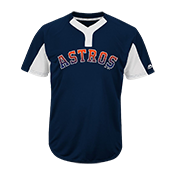Custom Astros Two-Button Jersey - Astros-MAI383 Astros-MAI383