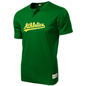 Athletics Youth 2-Button MLB Jersey - MLB181 Athletics-181