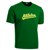 Athletics Youth Wicking MLB Replica Jersey - MA126Y Athletics-MA126Y