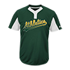Majestic-Mlb-Premier-Two-Button-Colorblocked-Jersey-MAI383-Athletics