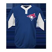 Youth Blue Jays Two-Button Jersey - Blue Jays-MAIY83 Blue-Jays-MAIY83