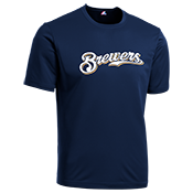 Brewers Youth Wicking MLB Replica Jersey - M1261 Brewers-M1261
