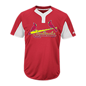 Youth Cardinals Two-Button Jersey - Cardinals-MAIY83 Cardinals-MAIY83