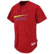 37820a9cbac7 Cardinals Full Button Baseball Jersey - Adult  Cardinals Full Button Jersey M6840