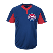 Custom Cubs Two-Button Jersey - Cubs-MAI383 Cubs-MAI383