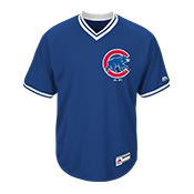 Youth Cubs V-Neck Cool Base Jersey - MGY08-CUBS MGY08-CUBS