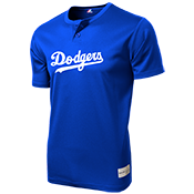Dodgers Youth 2-Button MLB Jersey - MLB181 Dodgers-181