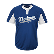 Custom Dodgers Two-Button Jersey - Dodgers-MAI383 Dodgers-MAI383