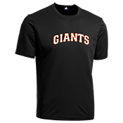 Giants Youth Wicking MLB Replica Jersey - M1261 Giants-M1261