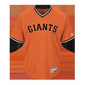 Youth Giants V-Neck Cool Base Jersey - MGY08-GIANTS MGY08-GIANTS