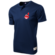 Indians Youth 2-Button MLB Tee - MAO181 Indians-MAO181