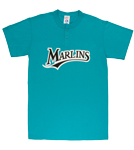 Marlins MLB 2 Button Jersey  - MA0180 Marlins-MA0180