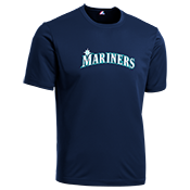 Mariners Youth Wicking MLB Replica Jersey - M1261 Mariners-M1261