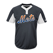 Custom Mets Two-Button Jersey - Mets-MAI383 Mets-MAI383