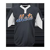 Custom Mets Two-Button Jersey - Mets-MAI383 Mets-MAI383