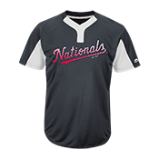 Custom Nationals Two-Button Jersey -  Nationals-MAI383 Nationals-MAI383