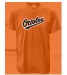Orioles MLB 2 Button Jersey  - MA0180 Orioles-MA0180