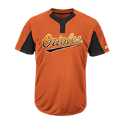 Custom Orioles Two-Button Jersey -  Orioles-MAI383 Orioles-MAI383