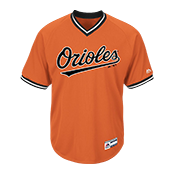 Youth Orioles V-Neck Cool Base Jersey - MGY08-ORIOLES ORIOLES-MGY08