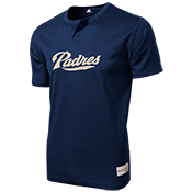 Padres MLB 2 button Youth Jersey  - MLB181 Padres-181