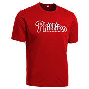 Phillies Youth Wicking MLB Replica Jersey - M1261 Phillies-M1261