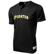 Pirates MLB 2 button Youth Jersey  - MA0181 Pirates-MA0181