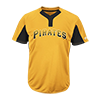 Majestic-Mlb-Premier-Two-Button-Colorblocked-Jersey-MAI383-Pirates
